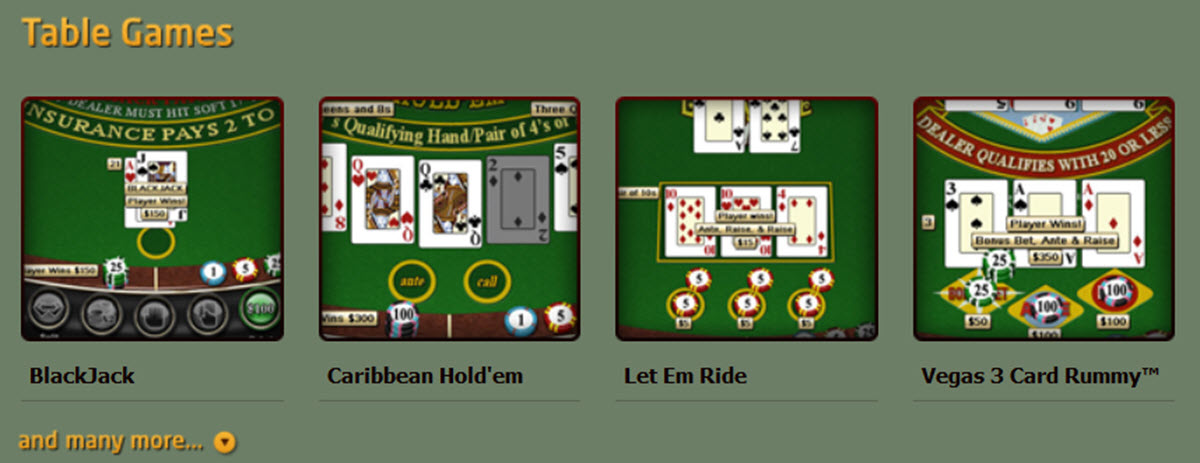 inetbet tablegames