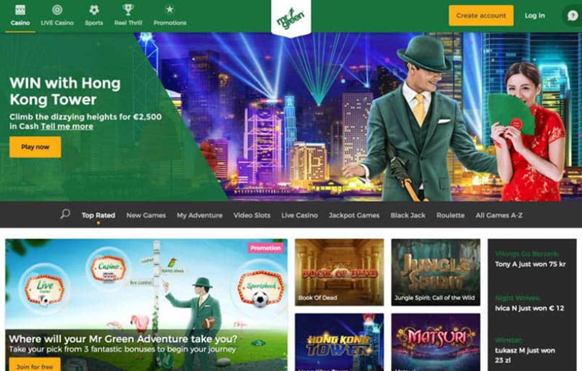 Mr Green - Casino Academy
