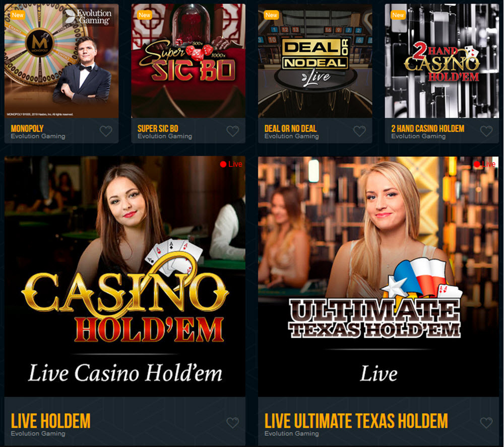 vegas dreams live casino